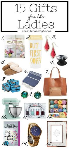 7f0c130fee5 15 Gifts For Your Favorite Ladies This Holiday Season! Looking for gift  ideas for your