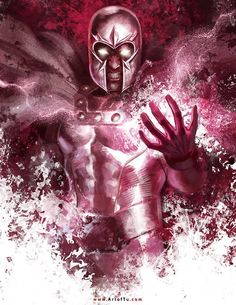 Magneto by Tu Bui (Art of Tu) #cuadrosmodernos #buyart #art