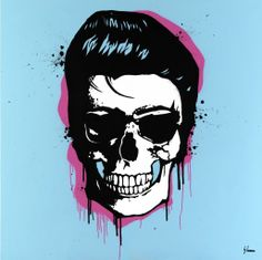 Dead Famous Collection:  Elvis Skull by George Ioannou (2013)
