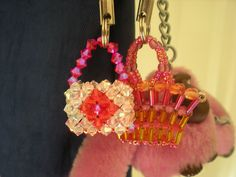 First beaded bag! by Beadwork by Sian, via Flickr