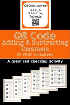 math worksheet : 1000 ideas about adding decimals on pinterest  decimal decimals  : Checking Subtraction With Addition Worksheet