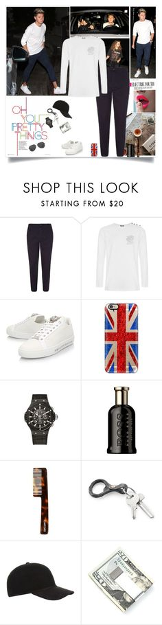"""""""Steal his style"""" by lizart ❤ liked on Polyvore featuring Casetify, HUGO, Tom Ford, Christy, Kenneth Cole, men's fashion, menswear, StreetStyle, OneDirection and onedirectionoutfits"""