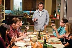 10. Funny People (2009)  Adam Sandler, Seth Rogen and Leslie Mann star in this comedy/drama about a wealthy but friendless comedian (Adam Sandler) who finds out that he has terminal leukemia. Looking for a friend in his final days, he hires a shy young comic (Seth Rogen) as a joke writer/caregiver, and invites him to Thanksgiving dinner