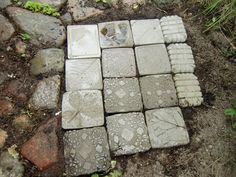 Quiltar och betong: Betonggjutning, Concrete casting.