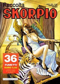 Fumetti EDITORIALE AUREA, Collana SKORPIO RACCOLTA n°393 Febbruaio 2007