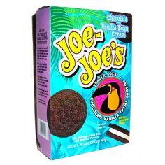 Trader Joe's Joe-Joe's Sandwich Cookies (Chocolate & Vanilla Bean Cream) Cookie too thin. Weird taste. Much prefer Late July's version.