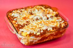 Lazy Lasagna (i am in no way lying when i say that this is incredibly simple, and SO amazingly delicious) (Bakingdom blog)