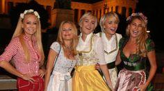 Promis in Bierlaune: Wer am Oktoberfest feiert - kurier.at
