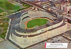 In Johnny Unitas was a rookie in the National Football League, and two years away from leading the Baltimore Colts to victory. New York Stadium, New York Giants Football, New York Yankees, Stadium Tour, College Football, Baseball Park, Baseball Stuff, Bronx Nyc, Mlb Stadiums