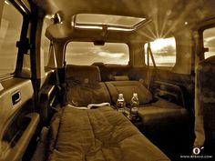 Honda Element Sleeper - Half Bed Configuration