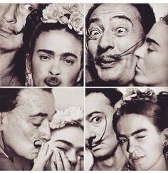 Publication of RestaurArt Frida Kahlo, Salvador Dali - Ashby Di Bernardo Diego Rivera, Frida E Diego, Kahlo Paintings, Frida Kahlo Artwork, Arte Van Gogh, Photo Portrait, Famous Artists, Art History, Dating