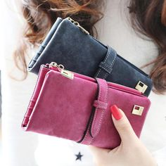Multi-Card Long Wallet for Women