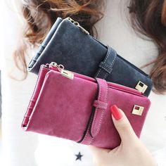 Multi-Card Long Wallet for Women