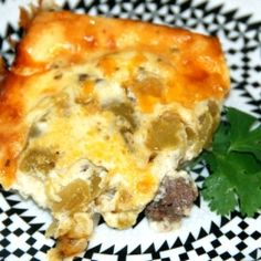 Chile Rellenos Casserole - All the flavors of chile rellenos, in an easy casserole!