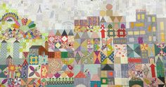 Jen Kingswell's Quilt Design - It's a Small World - Love it! 2015 Quiltmania  Special Edition
