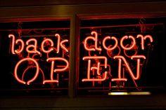 Backdoor open