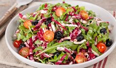 Mixed Bitter Greens Salad