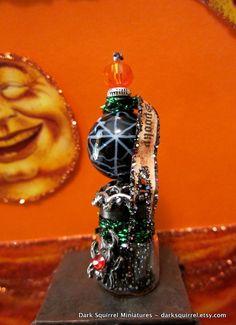 Spooky Spider Potion dollhouse miniature in 1/12 by DarkSquirrel, $12.00