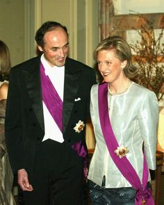 Prince Lorentz and Princess Astrid pose for a photo at a weloming... Nachrichtenfoto 3161029
