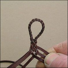 - 6 Strands : Leather Braiding by John  Great for straps!