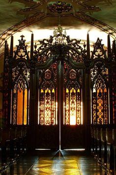 Desde el interior de la Iglesia de San Diego, en el centro histórico de la hermosa ciudad de  Aguascalientes, México. Por Viva Aguascalientes!