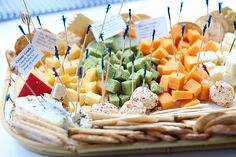 Variety of Appetizers | 5 Ways to Create a Memorable Wedding Dinner and Party
