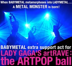 babymetal to fill in on Lady Gaga tour dates