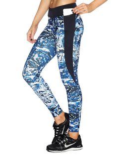 Aquamarine Ninja Pants - LIMITED (AU $109AUD) by BlackMilk Clothing