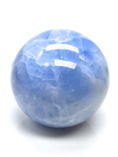 New Blue Calcite Spheres just added. See more here: http://www.exquisitecrystals.com/minerals/calcite