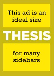 thesis marketing theme