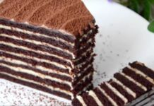 Luxusní kakaový medovník připravený z těch nejlepších ingrediencí!