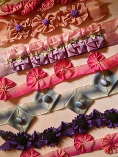 Vintage Passementerie — Some of the Fabulous trims you can sew with...