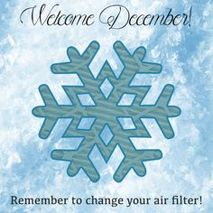 It's that time again! Remember to change your #airfilter! #HomeImprovement
