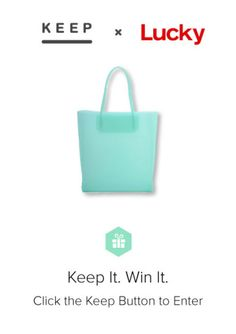 Win the #AlexanderWang bag Lucky editors love.