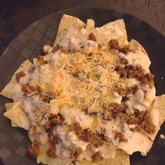 Deer meat nachos (these look SO GOOD)