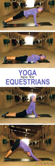 Improve your experience horseback with these yoga stretches and exercises for equestrians