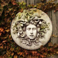 OrlandiStatuary Medusa Wall Plaque Wall Decor