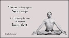 A collection of the best yoga Quotes by BKS Iyengar Meditation Quotes, Yoga Quotes, Yoga Meditation, Bks Iyengar Quotes, Iyengar Yoga, Buddha Quotes Life, Life Quotes, Frases Yoga, Yoga For All