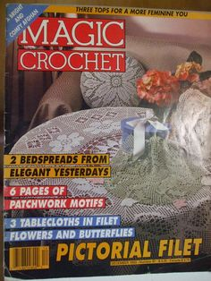 Second Silver - Magic Crochet magazines patterns 1986-2000