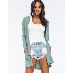 O'Neill Dusty Womens Cardigan ($49) ❤ liked on Polyvore