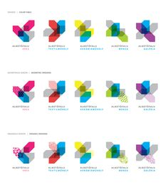 Graphic design - Declinaison de logos - Inspiration