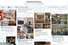 BrightNest | The Top 5 @hometalk Boards for Kitchen Inspiration | Beautiful Kitchens
