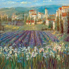 """Longo - """"Provencal Viaage"""". I love the impressionistic style."""