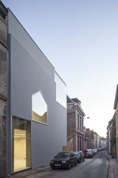 Architecture Faculty in Tournai | Aires Mateus; Photo: Tim Van de Velde | Archinect