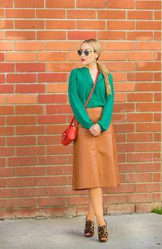 Hailee Steinfeld in Leather Skirt at Global Radio Studios in ...