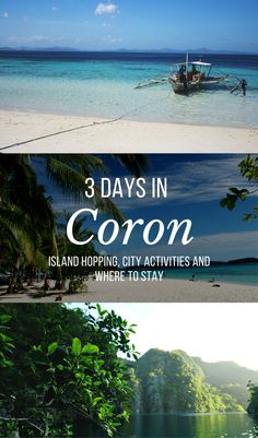 The ultimate paradise travel guide to the beautiful island of Coron, Palwan, Philippines. 3 days of city touring, snorkeling, swimming, hot springs. Explore Twin Lagoons, Kayangan Lake, Malcapuyan Island, Banul beach, Bulog Island, Maquinit Hot Spring, and a sandbar. Travel tips, travel cost for accommodations, and the best tour to book on Coron for your island tour.  Visit >> http://theiridescentwings.com/the-ultimate-coron-palawan-guide-3-days-in-a-philippines-paradise/
