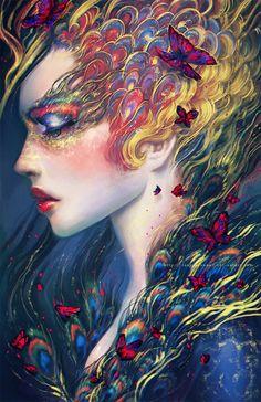 Era la luz buena,..y la mejor eternidad,era y fue la palabra necesaria.La que sabe callar. Era la otra forma de alcanzar la eternidad,era el irse dejando ser...Sin espejos, ni máscaras, sin humos, sin esperas del pasado, era el viento viajando en el follaje ...Era la luna, su esencia, la estrella que salta de lo oscuro,, una voz  que carecía de  habla,dice lo que dice si se tiene, el amor y se quedaba cual estrella en la mirada queda,cuando amanece.En su interior sólo el sueño.siempre.Anaís…