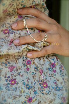 Amarillo - Ethos Ring Set in Gold Fill - $38.00