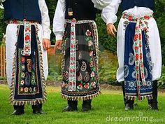 men's Czech folk costume--Moravian