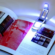 Black Flexible Folding LED Clip on Reading Book Light Lamp for Reader Kindle Hot Search